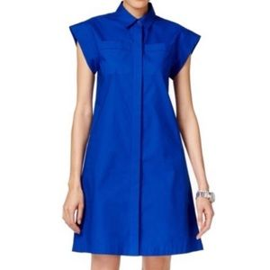 Michael Kors   Poplin Shirt Dress